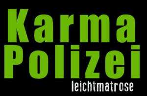 Motiv-karma-polizei-grün