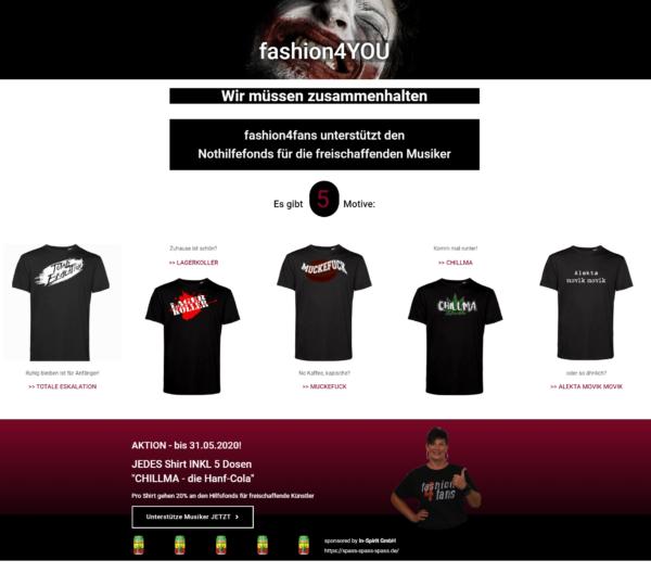 Charity-Shop fashion4YOU
